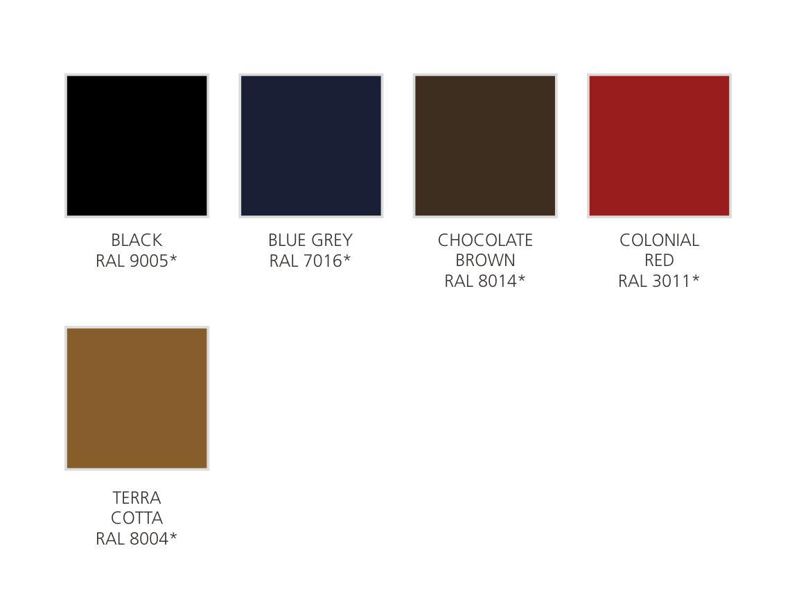 Colours - Aluminum