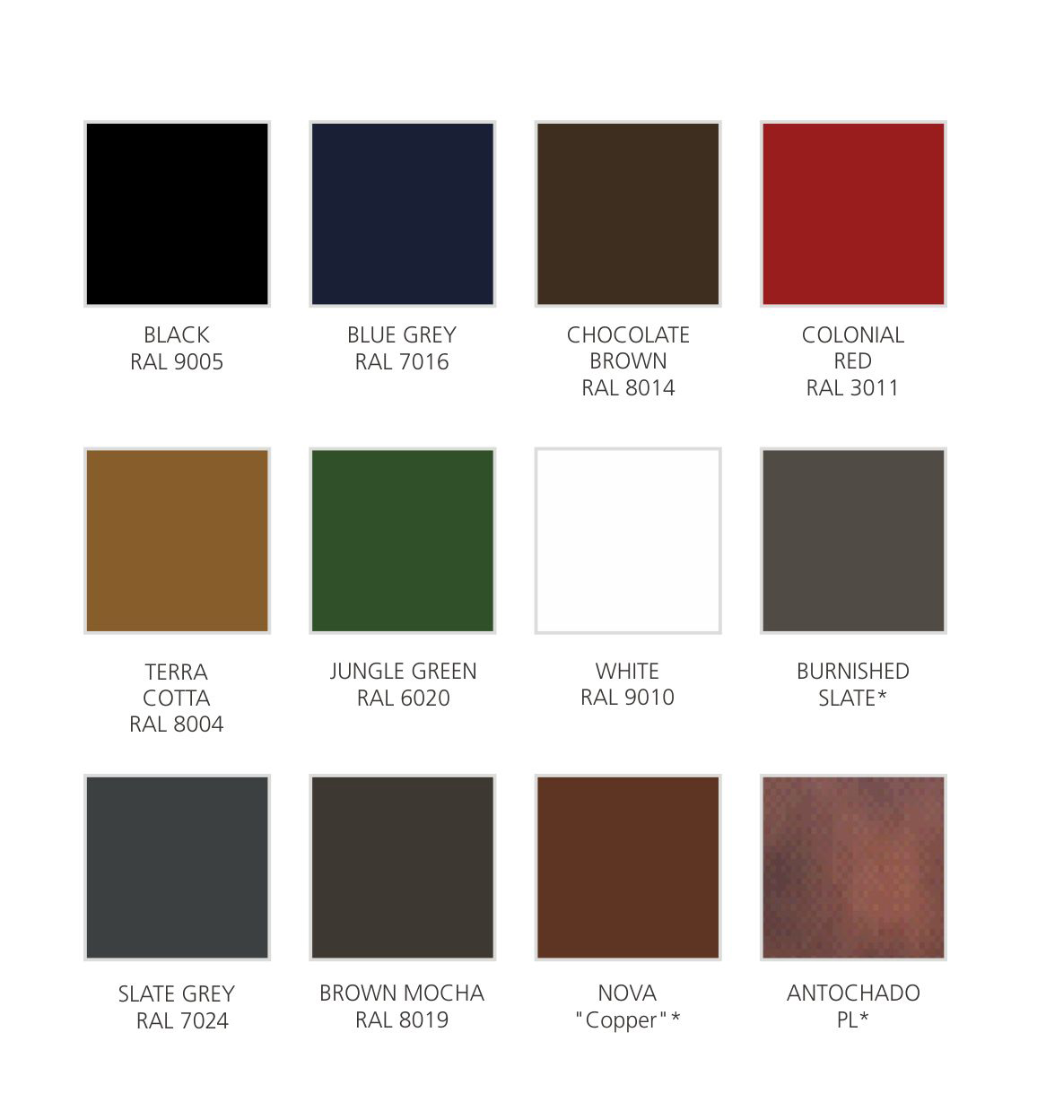 Colours - Steel